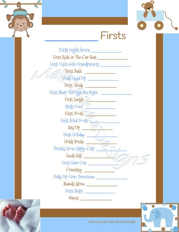 picture relating to Baby Memory Book Pages Printable named Quick Down load Printable Sbook Babys Firsts Web page