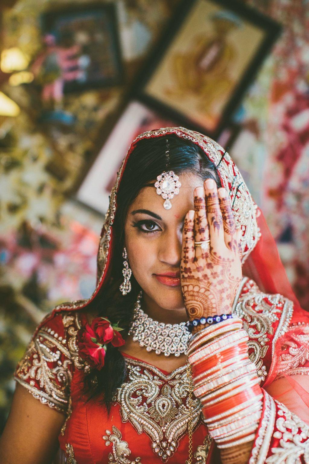 Indian American Wedding at Philadelphia's Magic Gardens