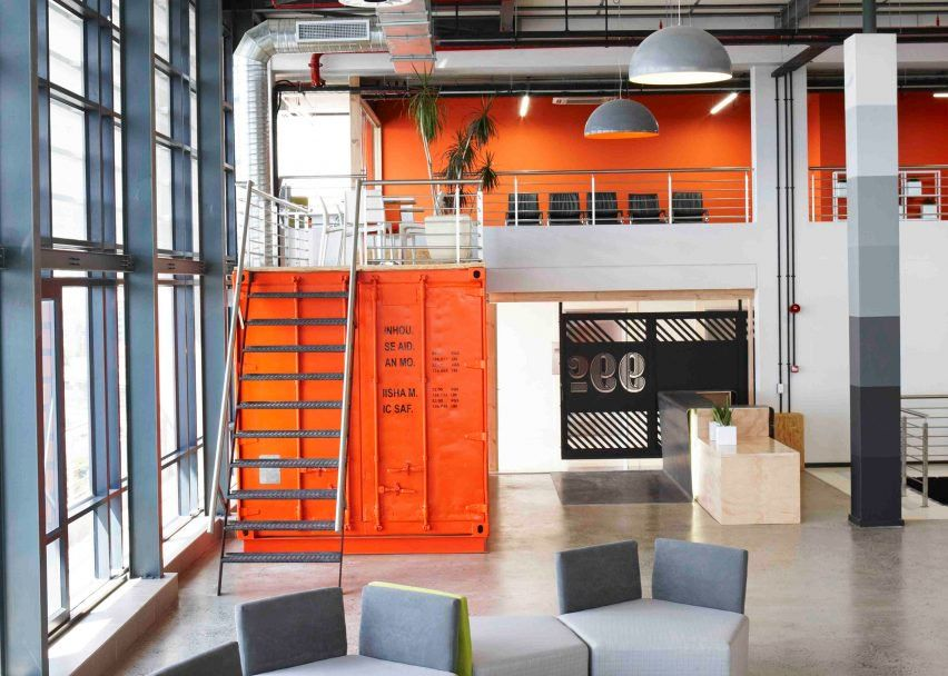 office by inhouse brand architects also design and furniture rh pinterest