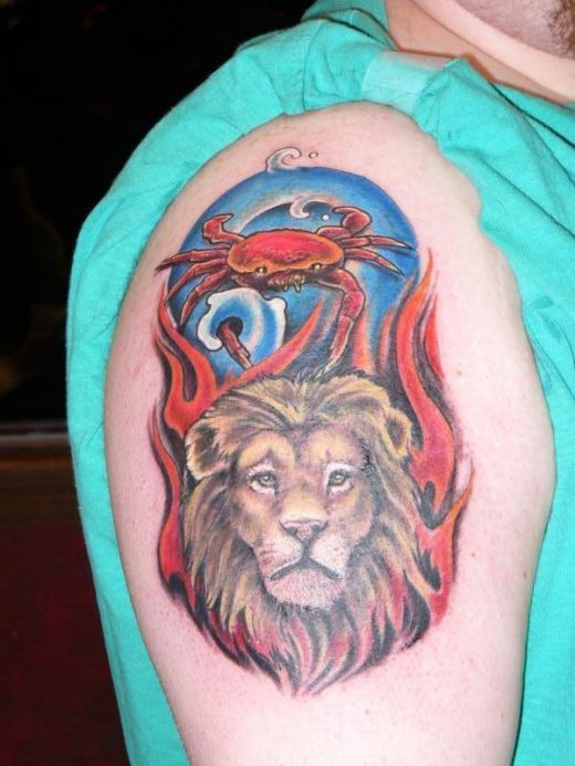 c85c528caeaf4 lion and a crab - Google Search | I WOULD LIKE TO EAT YOUR CANCER ...