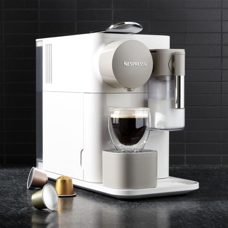 De'Longhi ® Silky White Lattissima One Espresso Maker #espressomaker