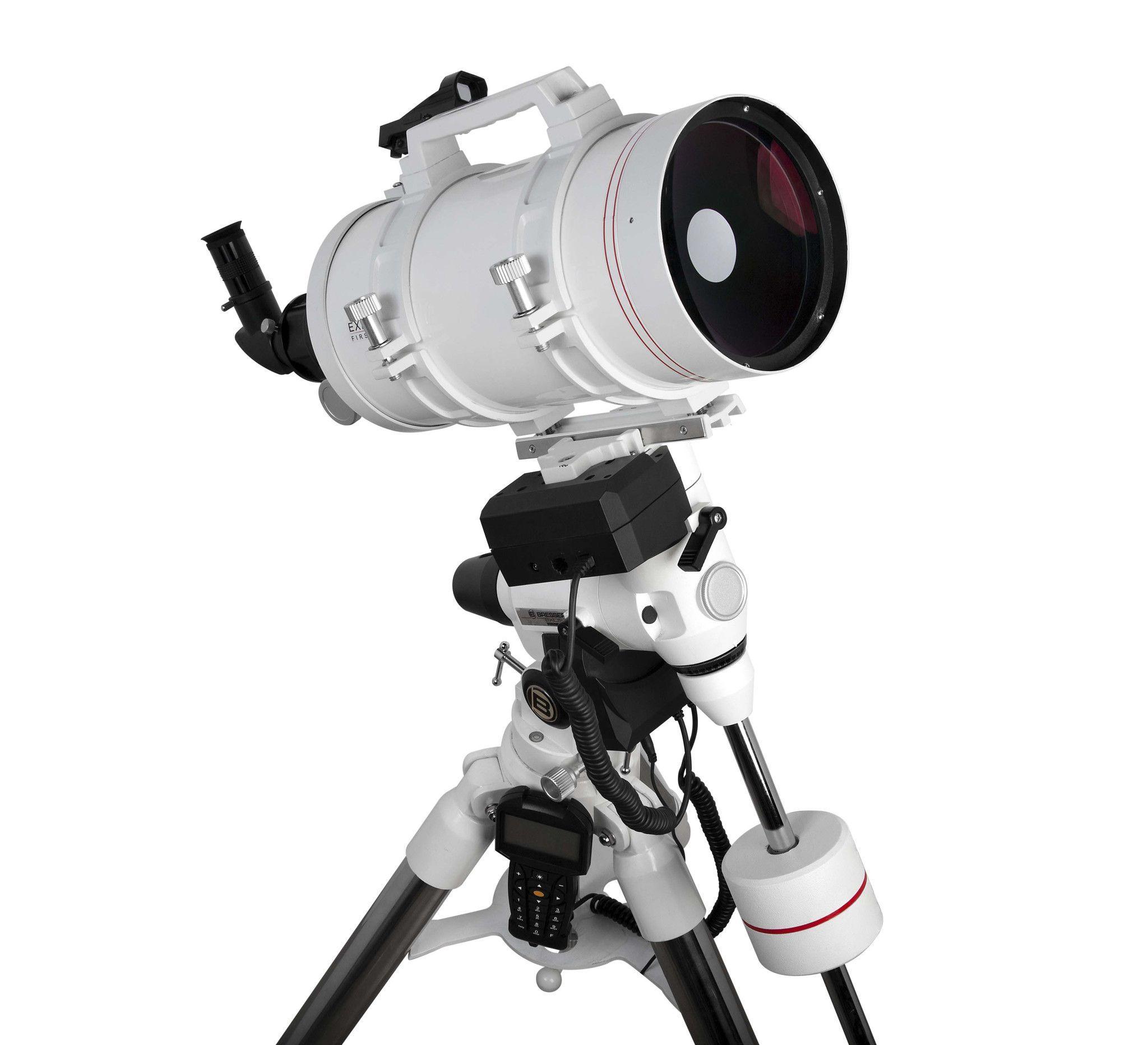 FirstLight MAK152mm White Tube Maksutov-Cassegrain with EXOS-2 Mount White with GOTO