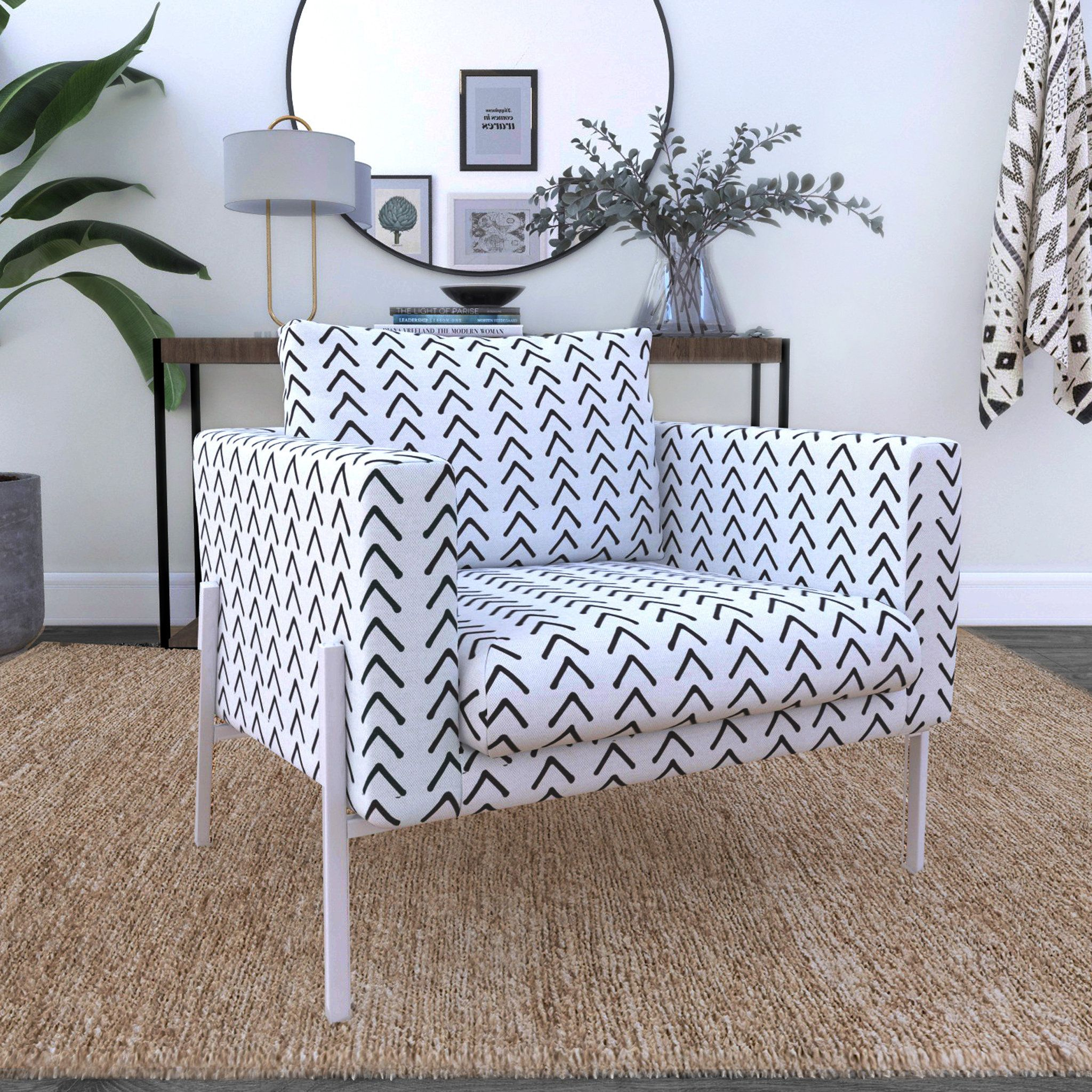 IKEA KOARP Armchair Covers, Arrows Tribal Print, African