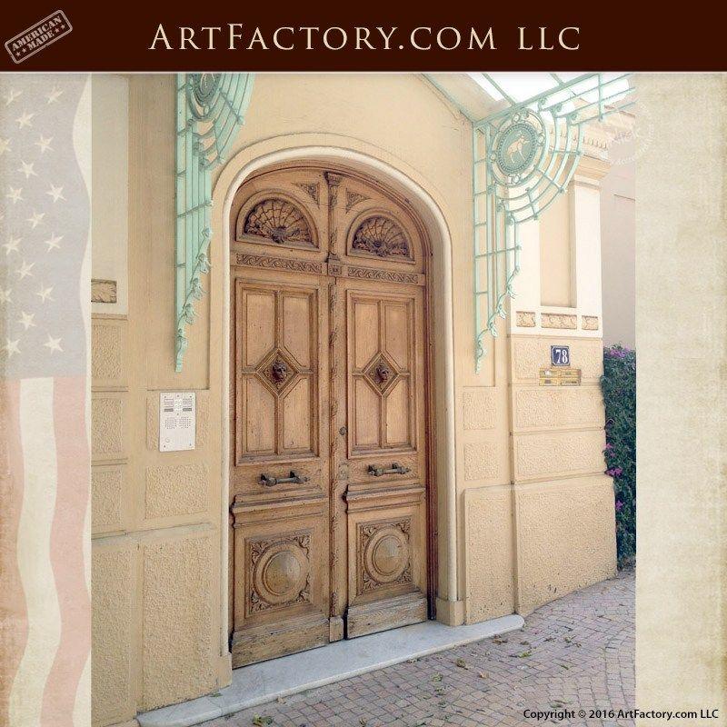 Historic Doors In Bucharest Hungary Customer Provided Photos Dk251 Double Doors Custom Wood Doors Safe Room Doors
