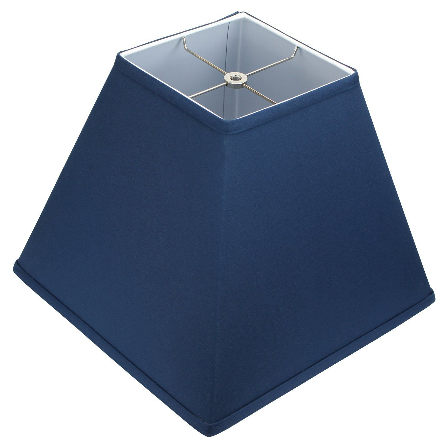 Fenchelshades Com 6 Top Dimension X 16 Bottom Dimension 12 Slant Height Lampshade Usa Made Navy Blue Want Additional Lamp Shades Light Fixtures Lampshades