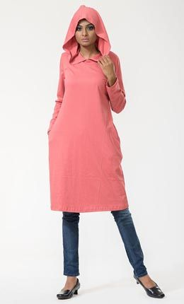 9f475ebb6443b Hooded Classic Cotton Tunic Top. Hooded Classic Cotton Tunic Top Cotton Tunic  Tops, Islamic Clothing, Online Shopping ...