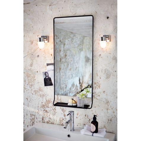 Badspiegel Kleine Ablage Industrial Look Metall Katalogbild