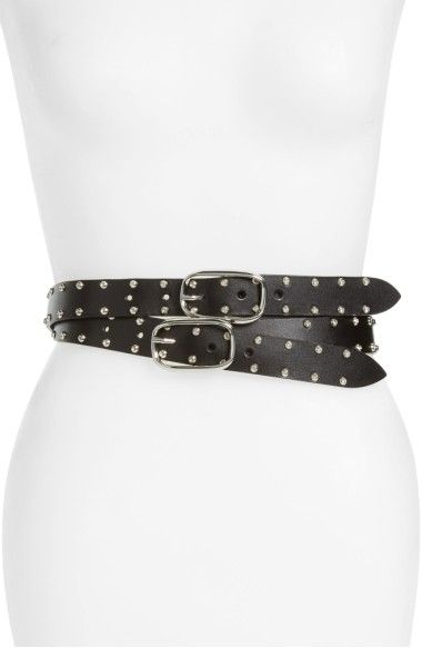 Buckled Leather Belt Iro rp9W0f6M5l