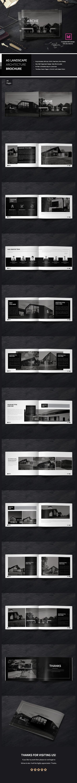 "Check out my @Behance project: ""Landscape Architecture Brochure ..."