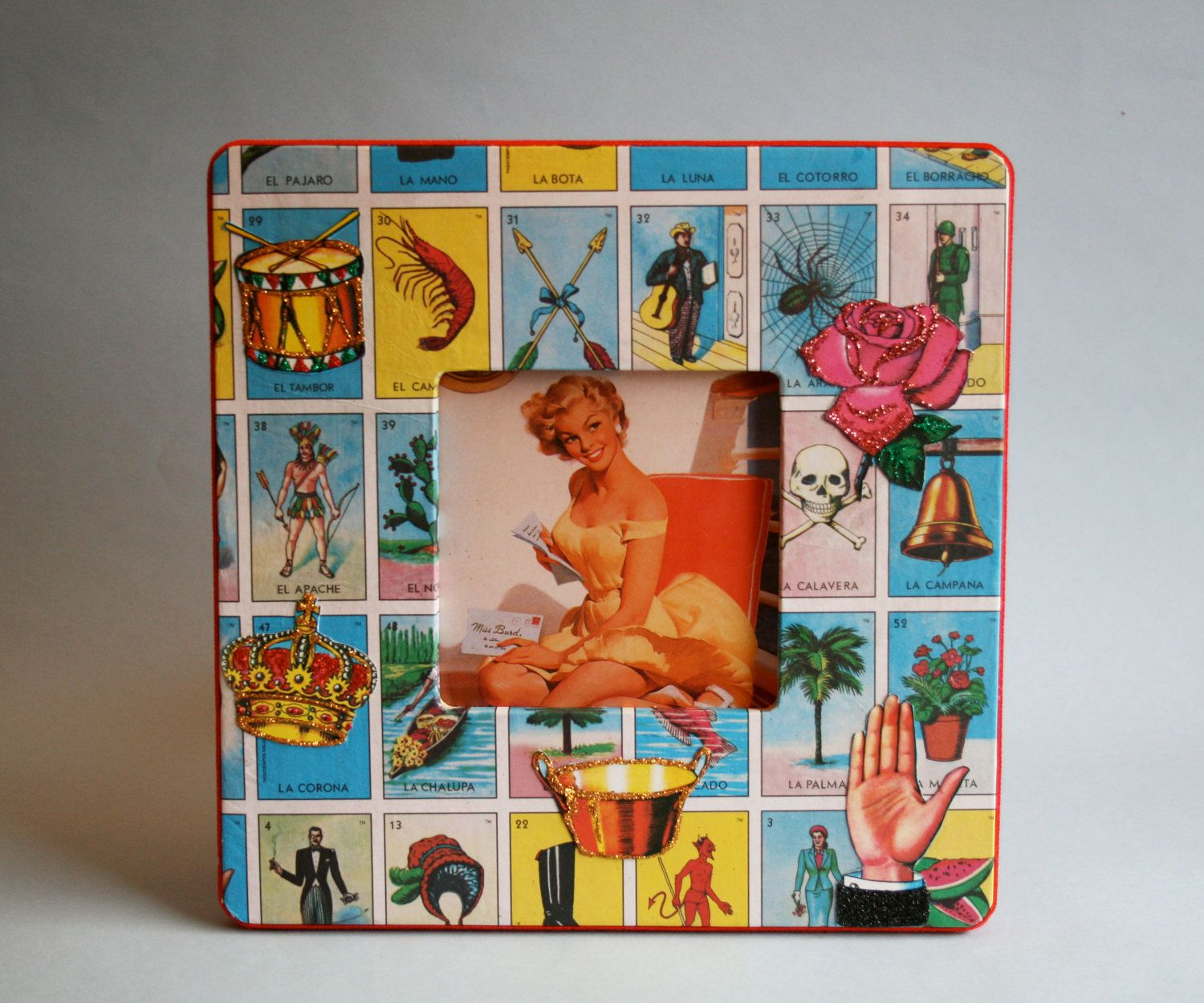 Loteria Picture Frame- Gifts Under 20