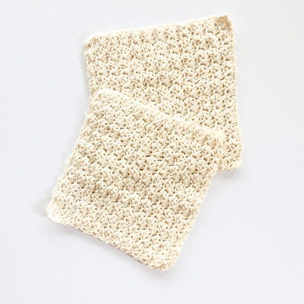 Wash Cloth Crochet Pattern by Little Monkeys Design