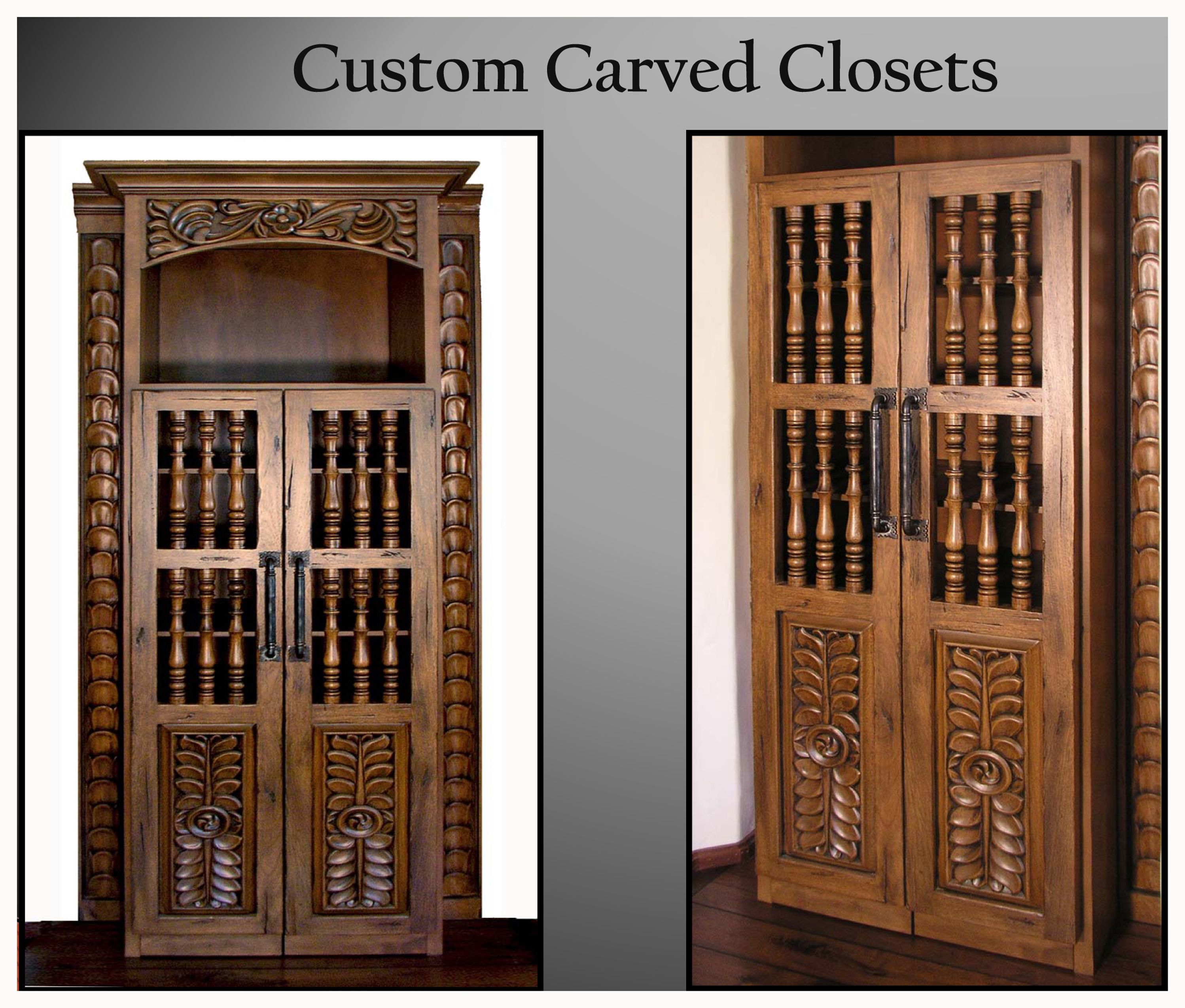 Best Carved Closets Custom Made For Client S Builder And 400 x 300