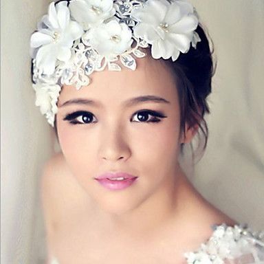 Crystal Flower Hair Flower Bride Hair Wedding Headdress – USD $ 15.99