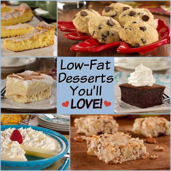 14 Low Fat Desserts You'll Love | EverydayDiabeticRecipes.com