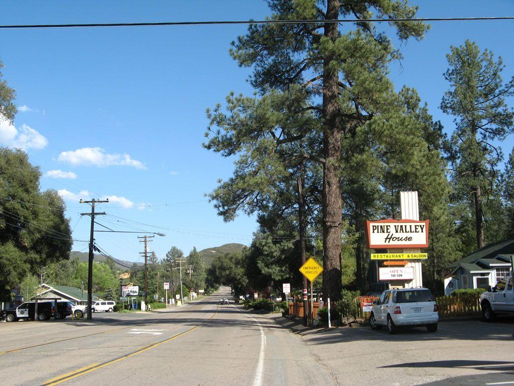 Pine Valley California Historic U S Highway 80 East Pine