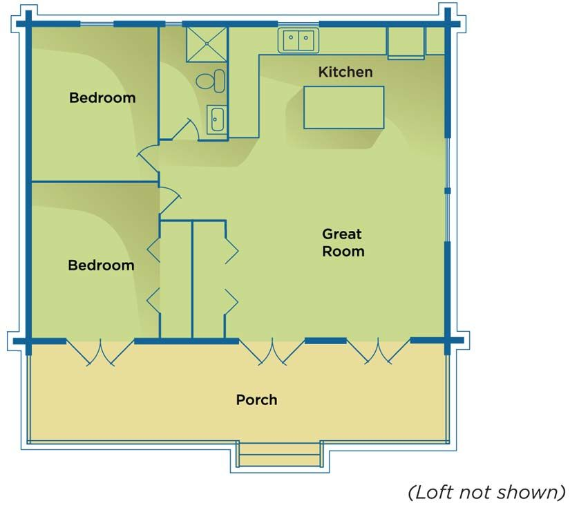 900 square foot house plans cottage home floor feet level 1 view