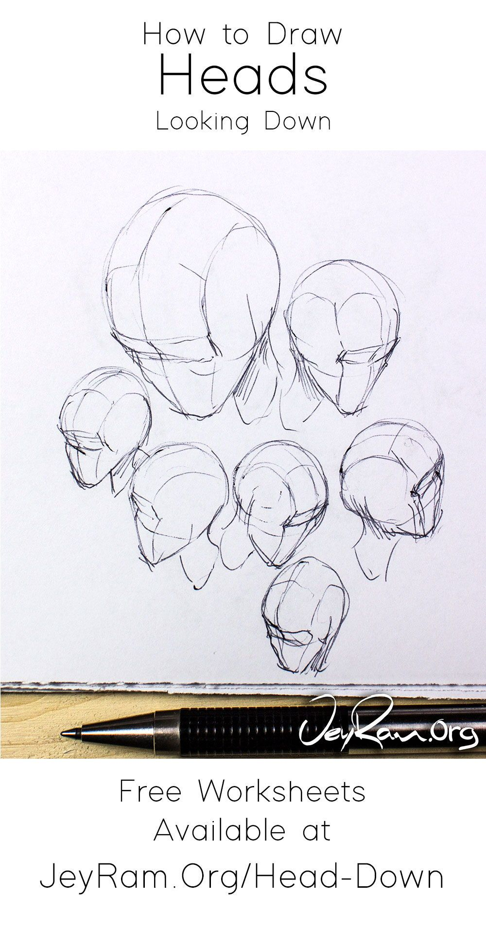 How To Draw The Head Looking Down Or As Seen From Above In 2020 Drawings Creative Drawing Drawing Anime Bodies