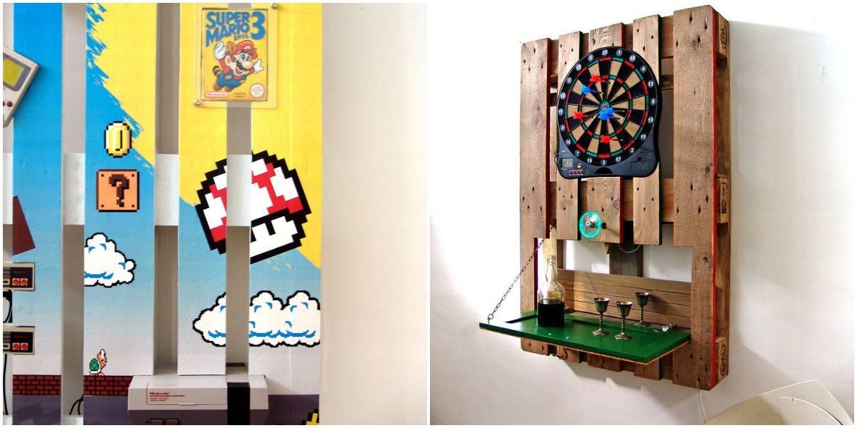 Vrouw maakt van simpele pallets toffe DIY-kunstwerken voor in huis