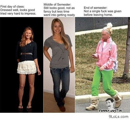 o.O....  How women dress