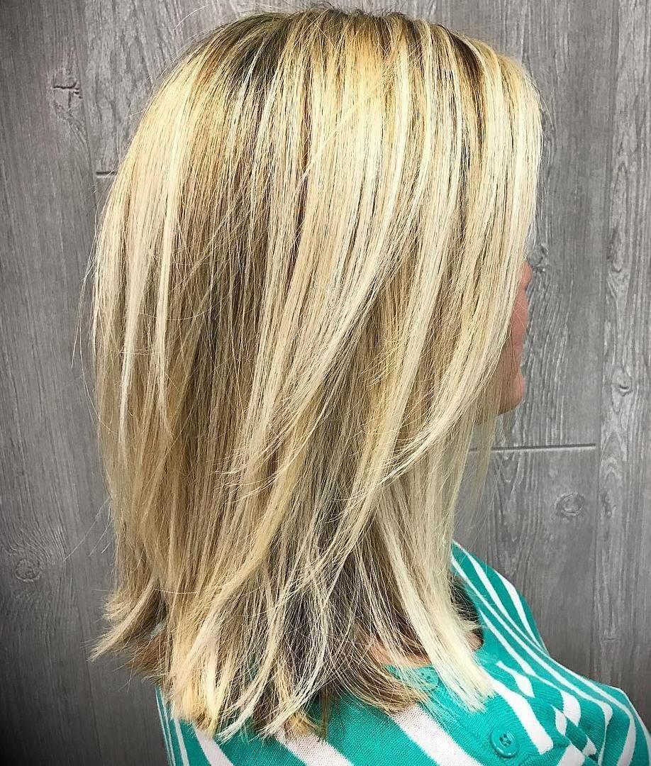 60 Fun And Flattering Medium Hairstyles For Women Haare Frisuren
