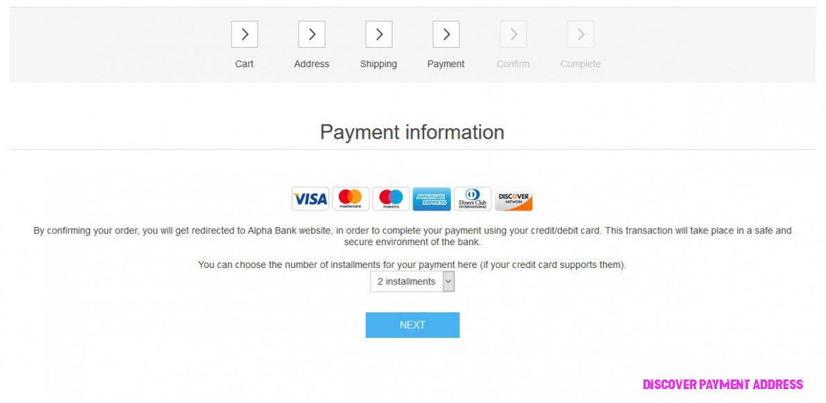 How You Can Attend Discover Payment Address With Minimal Budget