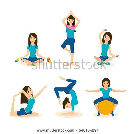 girls doing yoga and meditation in the lotus position
