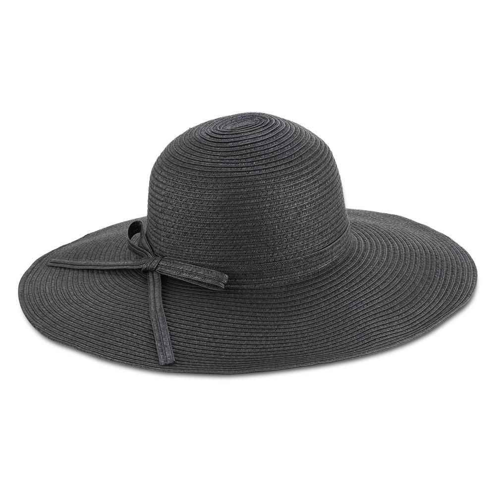 2a9797d24ae Black Raffia Hat w  Braid Band