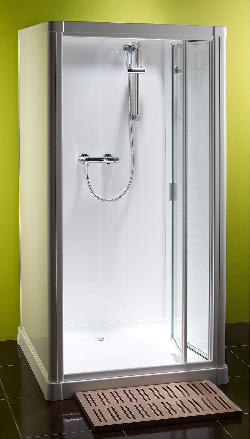 Kubex Profile 900 Leak Proof Shower Cubicle with Pivot Door 970mm x ...