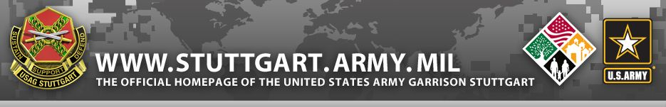 US Army Garrison Stuttgart GermanyWifes Tour Of Duty - Us army garrison stuttgart map
