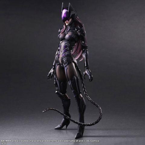 Play Arts PA Kai Variant Selina Kyle Catwoman DC Comics Figure Figurine No Box