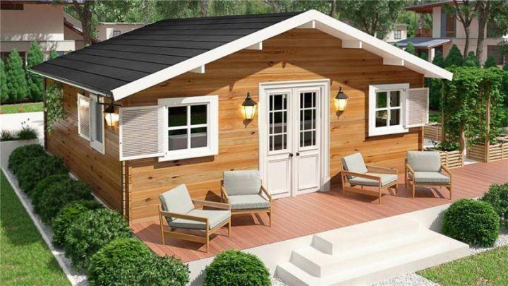 Case Mici Din Lemn O Casa De Vacanta Ideala Maison Bois Plan Construction Maison Maison