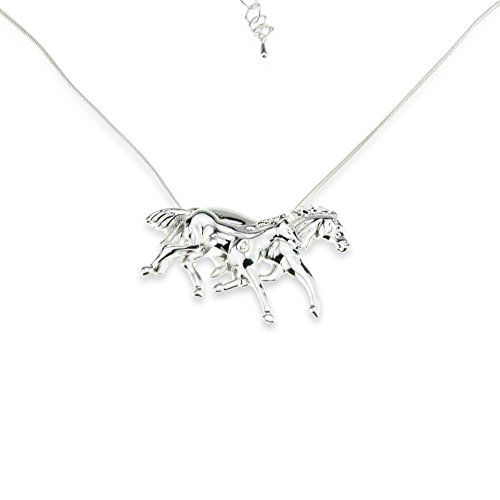 Two Horse Silver Necklace Gift Crazy Animal Lover Girl Women Couple Pendant Horserace Jewelry Embolden Jewelry http://www.amazon.com/dp/B00NTJO9PG/ref=cm_sw_r_pi_dp_SojAvb1HXJ839