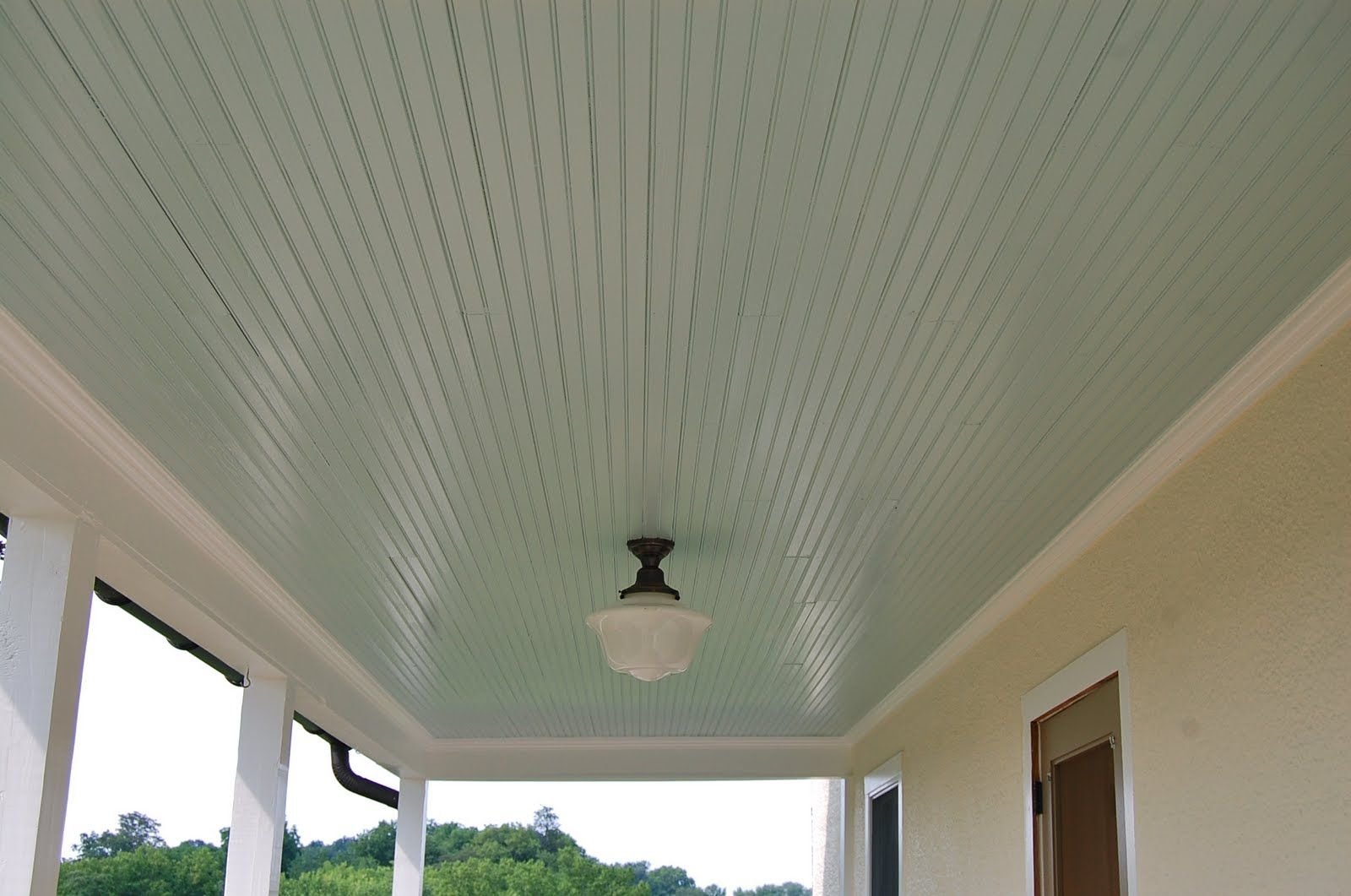 Haint blue sherwin williams the story of a farm life for Sherwin williams ceiling paint colors
