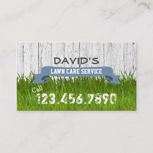 Professional Landscape Software: Lawn Care & Landscaping Service Professional Business Card