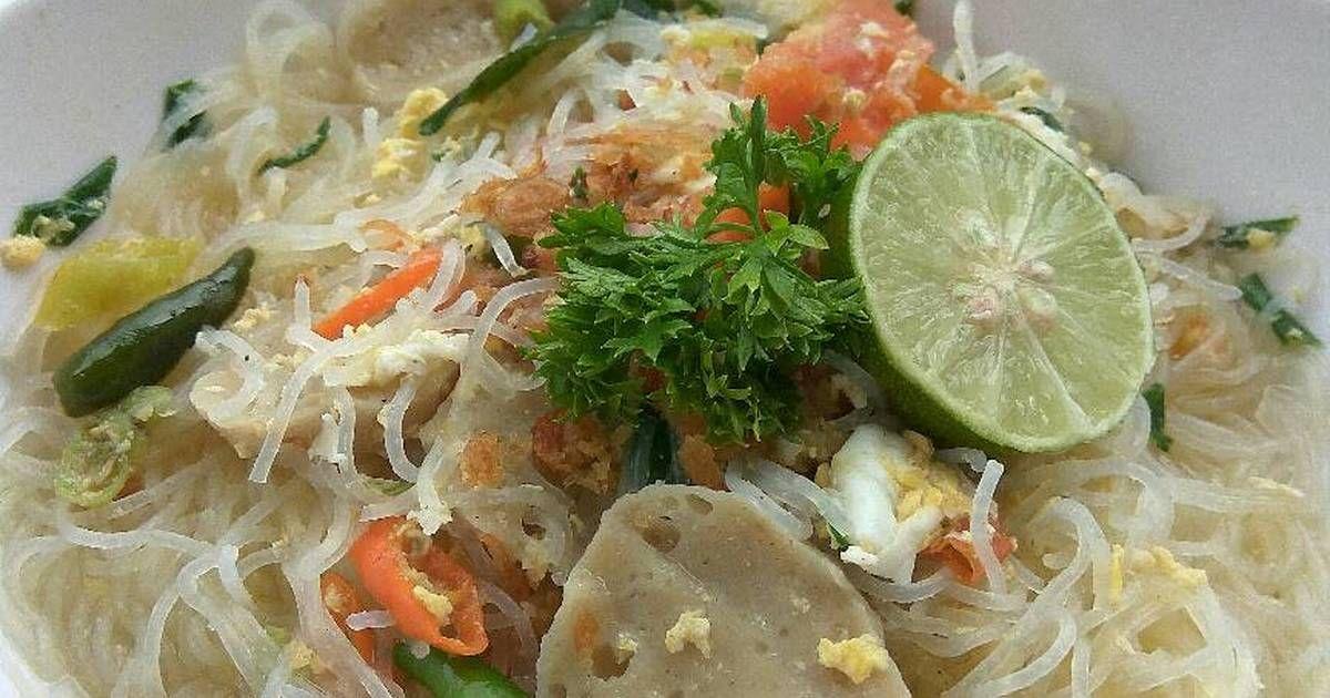 Resep Bihun Kuah Asam Pedas Segar Oleh Lisda Trijianto Resep Sayuran Resep Makanan