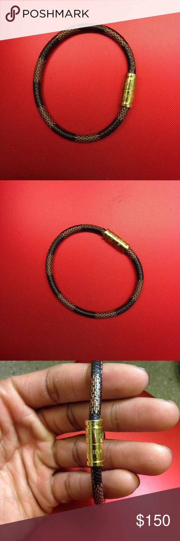 Louis vuitton bracelet retail retail value is new no damages