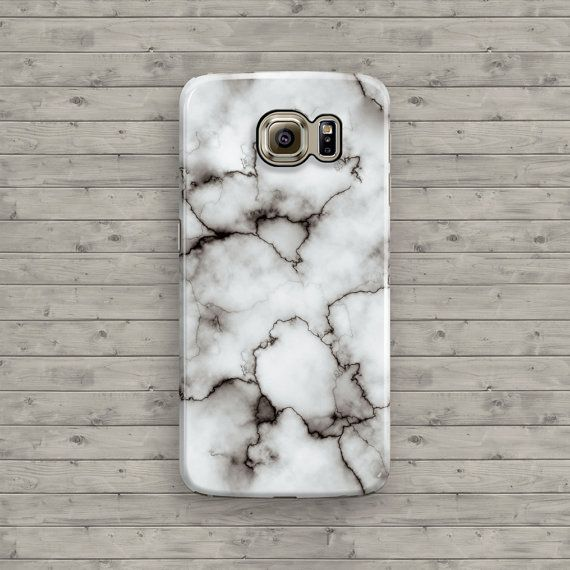 quality design f166c c5b3f Marble Galaxy S6 Case, White Marble Samsung Galaxy S7, Galaxy S7 ...