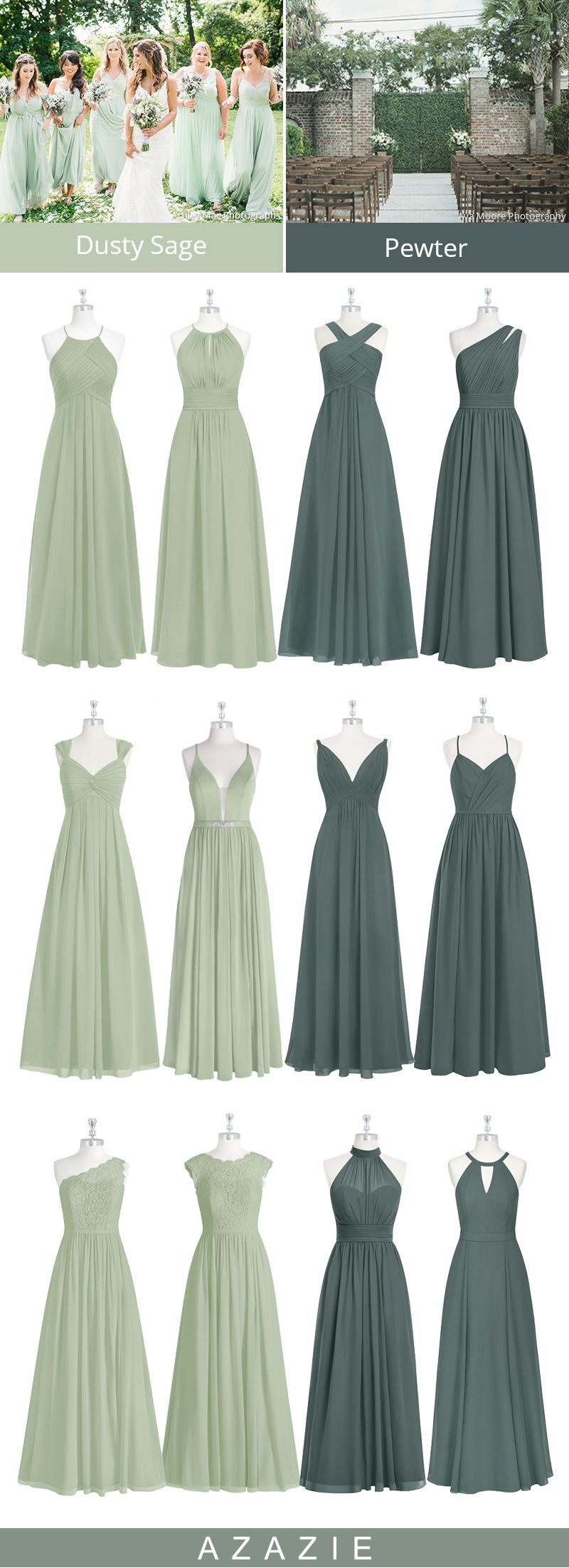 Azazie Sage Bridesmaid Dresses Bridesmaid Dresses Dusty Sage Sage Bridesmaid Dresses Fall Bridesmaid Dresses