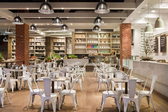 Interiors Of Capital Kitchen An Urban Farmhouse Open Concept Dining Cafe Bar And Retail Store