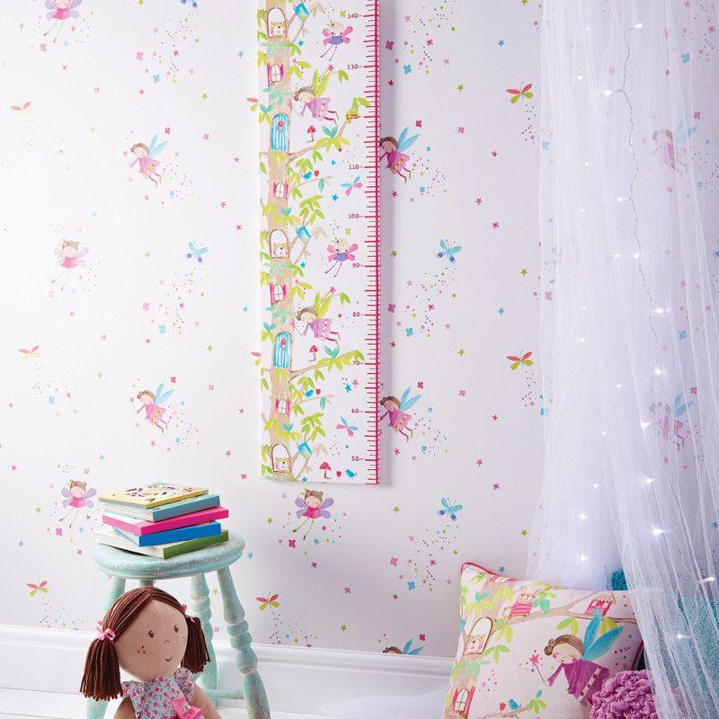 Arthouse Fairy Dust Glitter Wallpaper In White