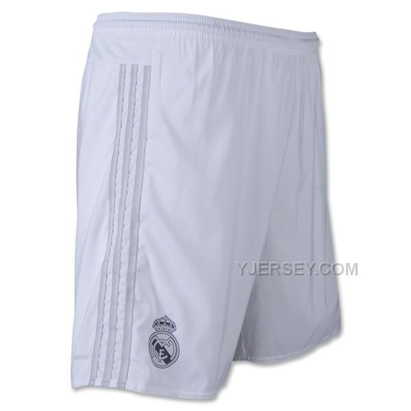 http://www.yjersey.com/1516-real-madrid-home-jersey-short.html 15-16 REAL MADRID HOME JERSEY SHORT Only $28.00 , Free Shipping!
