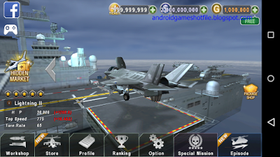 download gunship battle with unlimited gold