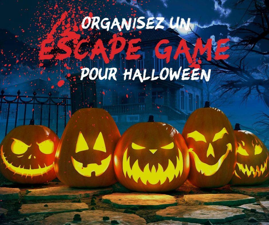 Organisez un Escape Game pour le soir d'halloween. Idée