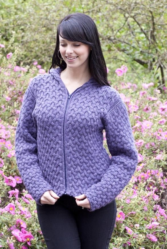Cabled Hoodie in Cascade 220 - Digital Version | Free ...