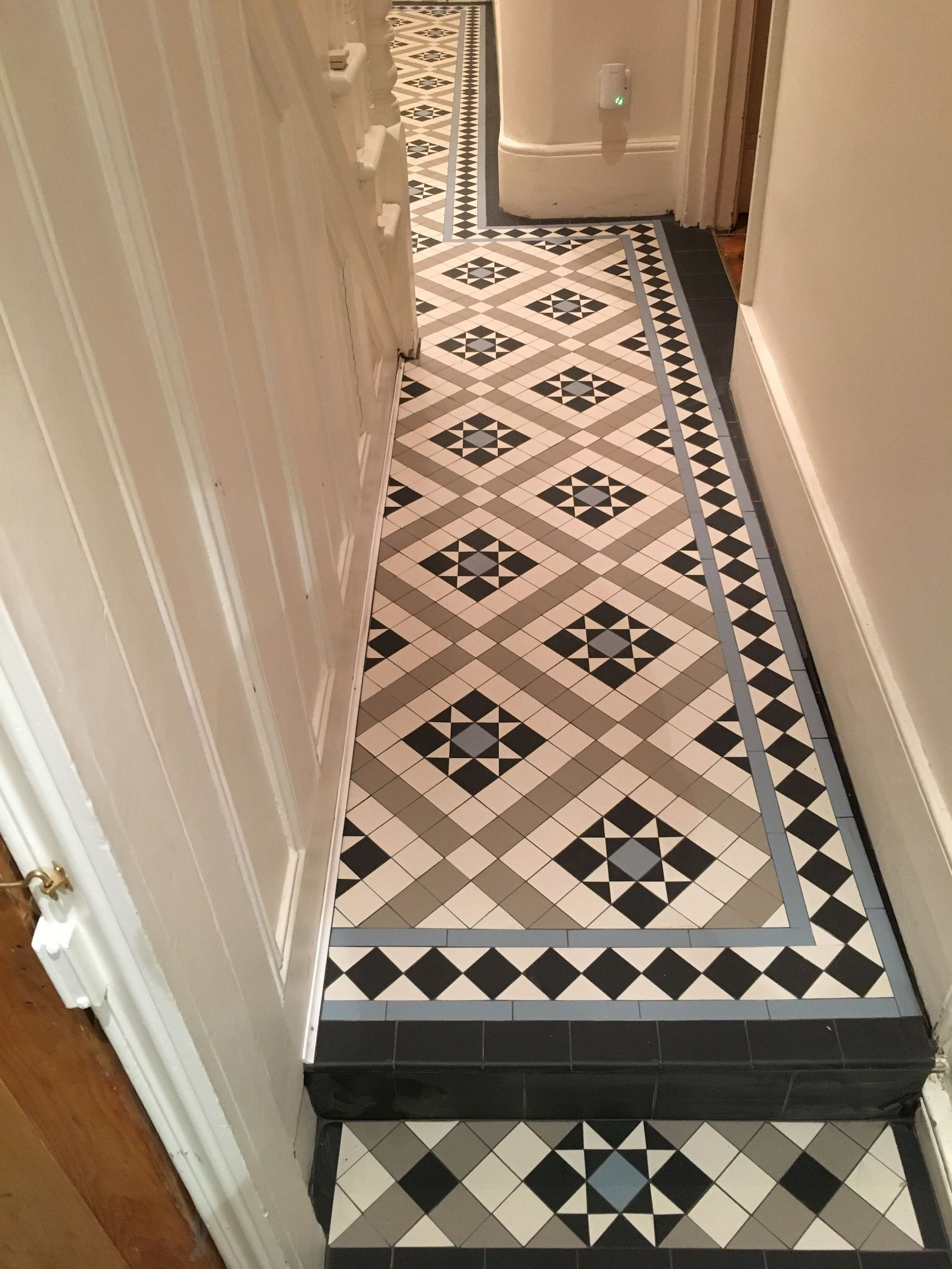 Victorian Small Hallway Floor Ideas