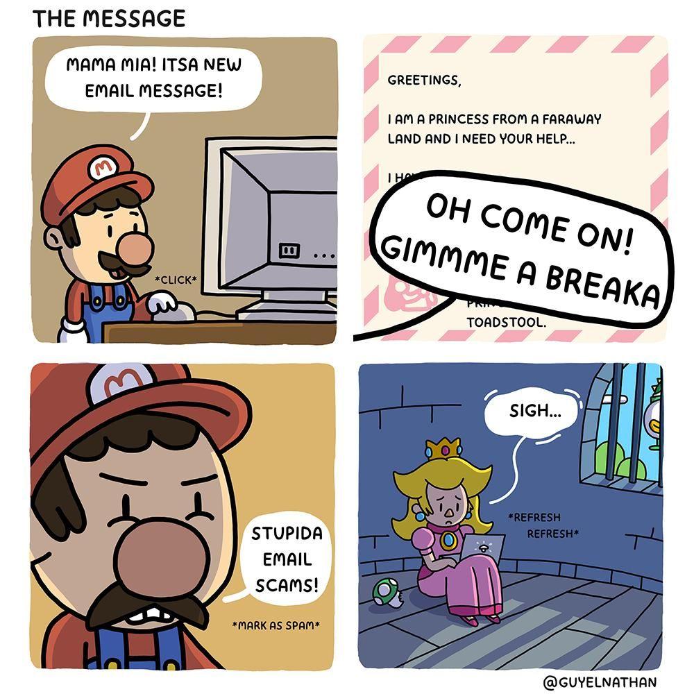Nigerian Princess Oc Mario Memes Mario Comics Super Mario Memes
