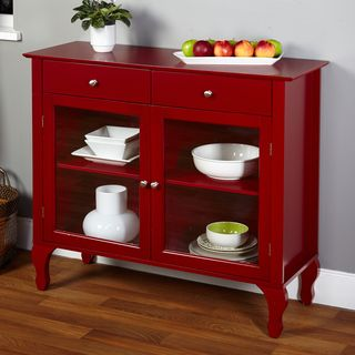 Awesome Simple Living Antique White Kendall Buffet By Simple Living