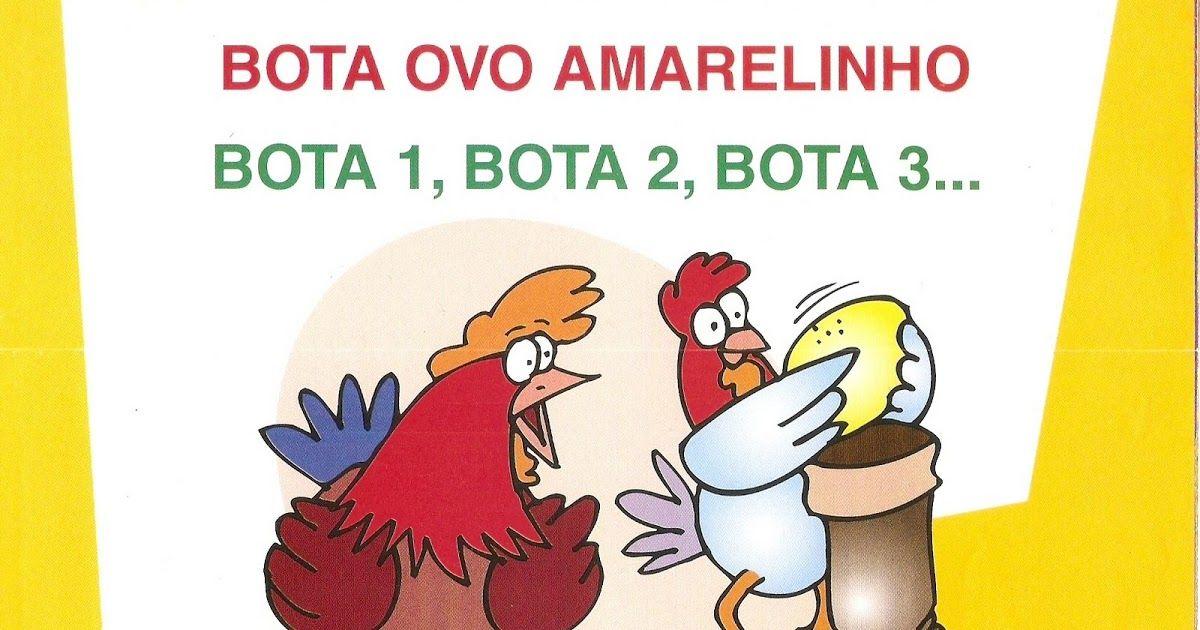 Parlendas Ilustradas Para Imprimir Da Revista Guia Pratico Para