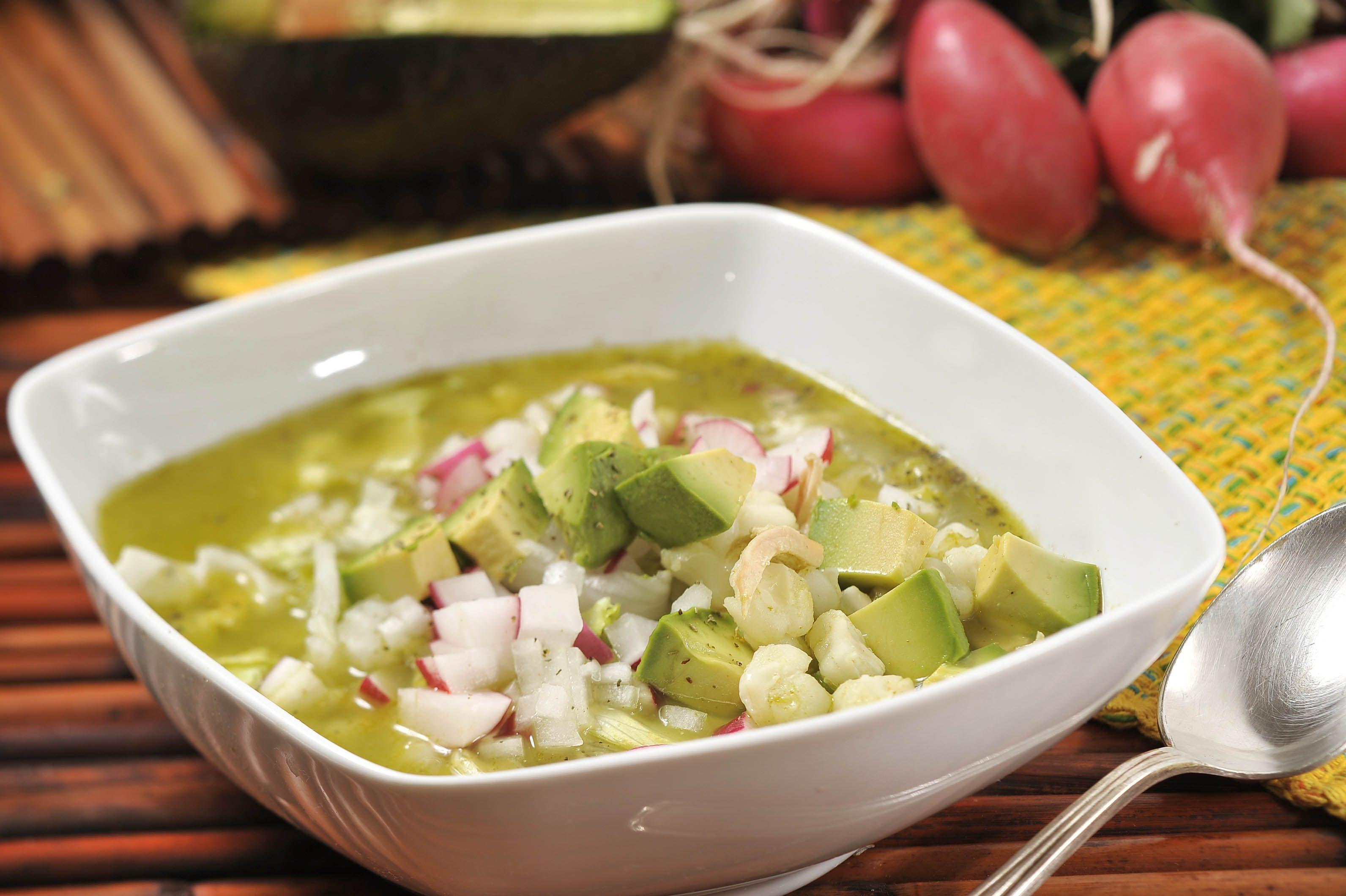Pozole verde de pollo | Recipe | Pozole, Mexicans and Yummy food
