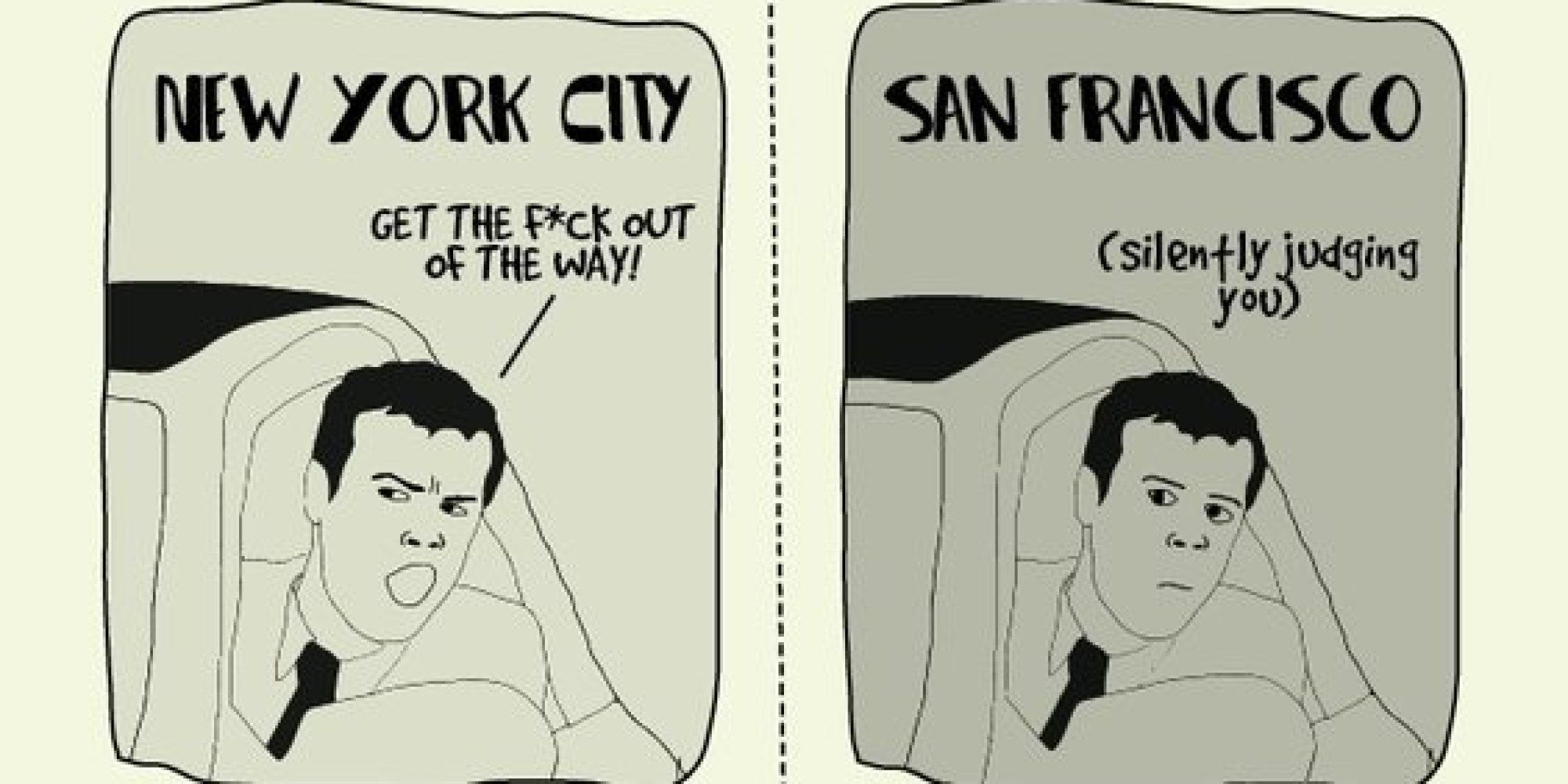03a6f25d The Difference Between Living In New York And San Francisco ...